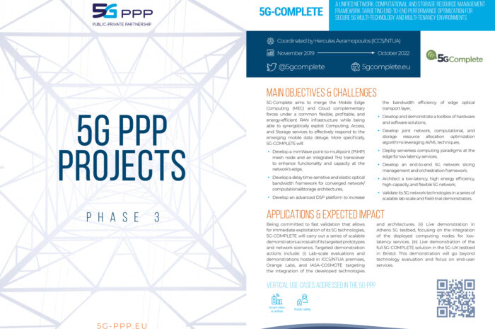 The 5G-PPP Phase 3 Brochure