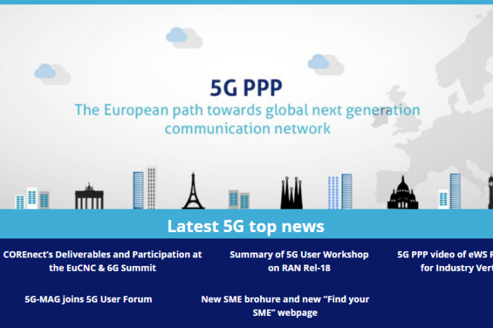 5G-PPP Newsflash and Newsletter (August 2021) released